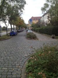 Weiterer Verlauf der Fahradstraße.