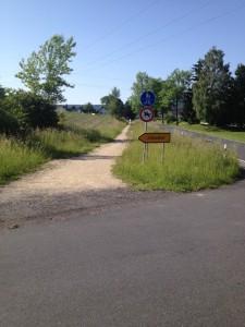 Radweg Althaidhof