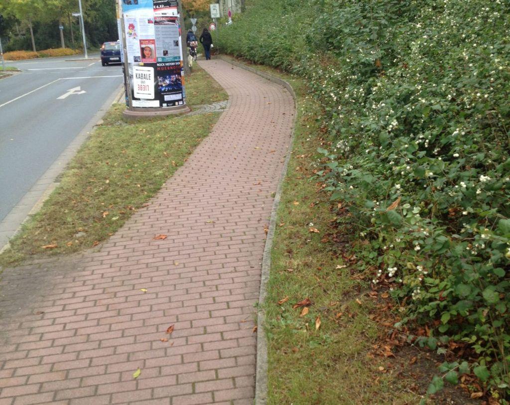 Fortführung des Geh- und Radwegs