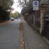Anfang / Ende der Fahrradstraße Liszstraße