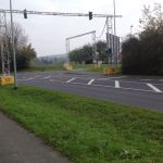 Hier soll der Kreisverkehr entstehen.