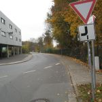 Vorfahrtsregelungen auf dem Mainradweg.