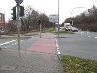 Kreuzung Gutenbergstraße