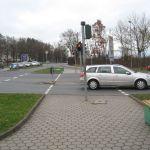 Radfahrerampel Richtung Kulmbacher Straße